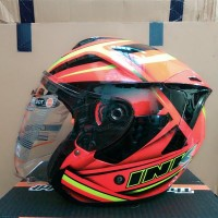 Helm ink dynamic yellow fluo red fluo