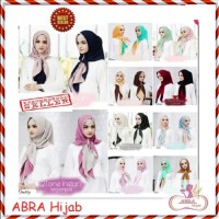 Jilbab Terbaru / Hijab Khimar / Kerudung Pashmina Instan Motif - AJJ