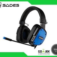 Sades Gaming Head Set SA-722 D POWER - support (PS4,XBOX,PC,HP)
