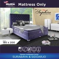 American Pillo Saphire Latex Springbed Mattress 180x200