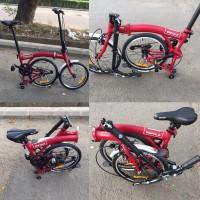 SEPEDA LIPAT Folding Bike Trifold 16 Not Brompton Dahon Birdy Strida