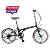 SEPEDA LIPAT Sepeda London Taxi Folding Bike 20 inch - Black READY
