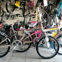 SEPEDA LIPAT Sepeda Lipat 20 United (free ongkir pulau jawa) READY