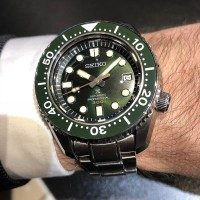 SEIKO PROSPEX SLA019 DIVERS LIMITED EDITION GREEN DIAL JAPAN MOVMENT