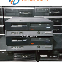 Pc Cpu komputer murah LENOVO core 2 duo Dekstop slim branded bekas