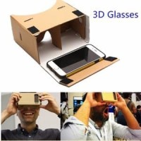 PROMO Google Cardboard Virtual Reality VR 3D Karton HP Kacamat seller