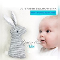 Rattle baby rabbit cute teether doll