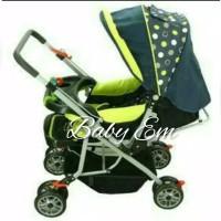 Stroller Creative Classic B/S 218 green hijau