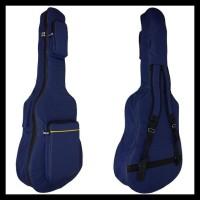 Softcase Gitar Sarung Gitar Tas Gitar Akustik Jumbo - Hitam