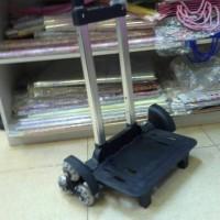 Trolley Tiga Roda Buat Tas Sekolah Anak - Hitam Berkualitas
