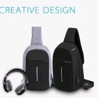 Tas Selempang Anti Maling-Anti Air Smart Crossbody Bag