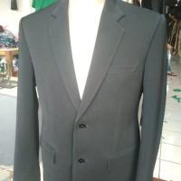 jas formal jas blazer jas kantor jas nikah pria hitam polos