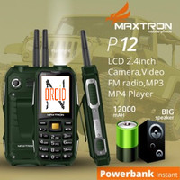 MAXTRON P12 hp antena outdoor powerbank
