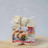 Ekado ikan 10pcs Gigit Food / Egg money bag/ Makanan beku/ Seafood