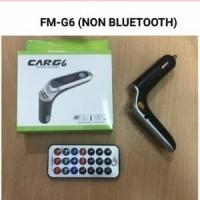 Modulator FM/MP3 Mobil G6 BIASA Non Bluetooth Transmitter Car G-6