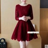 Dress Celinne/dress natal murah/dress pesta/baju natal wanita murah