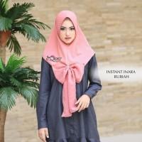 Jilbab Siria Hijab Langsung pakai Instant Inara Rubiah By Dqiara Hijab