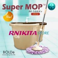 Alat pel Super MOP BOLDE M-168X PLUS (+) | drainase & tongkat besar