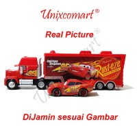jual mainan anak cars lightning mcqueen and mack truck