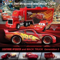 Mainan Anak Cars Lightning McQueen and Mack Truck