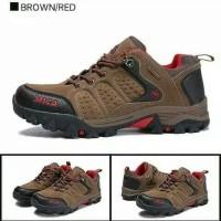 Sepatu Gunung SNTA 432 Brown/Red