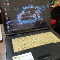 Laptop Second Fujitsu A8270 Core 2 Duo RAM 2GB HDD 80GB 15inch MURAH