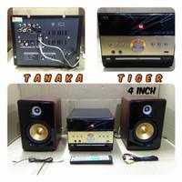 Speaker aktif 4 in power amplifier DVD TANAKA TIGER