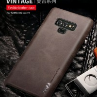 SAMSUNG NOTE 9 X-LEVEL VINTAGE LEATHER SLIM BACK CASE ORIGINAL