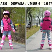 Helm Sepeda Skuter Sepatu Roda Dekker Pengaman Anak DEWASA 6-16 Tahun