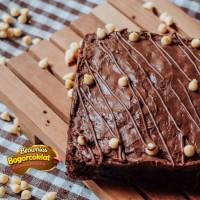 brownies Nutella / brownies selai nutella / brownies coklat