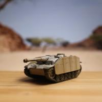 WTM 1/144 - Sturmgeschütz III - World Tank Museum - Takara - Miniatur