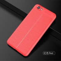 Softcase TPU Slim Leather Auto Fokus Cover Case Casing HP Vivo Y71