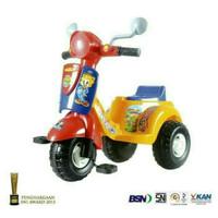 Sepeda Anak Plastik Vespa Roda 3