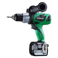Bor Cordless Impact Driver 13 mm Hitachi DV14DBL -Include PPN-