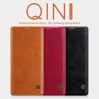 SAMSUNG NOTE 9 NILLKIN QIN FLIP LEATHER CASE BOOK COVER ORIGINAL