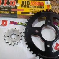 gear 1SET 428 DID HD CBR CB150 TIGER NEW CBR150 FACELIFT K45 MEGAPRO