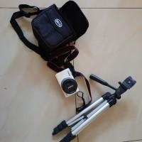 Canon EOS M10+kit (white) Bonus:SDcard 8GB,tripod,tas