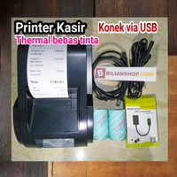 Printer Kasir Toko Portable 58mm USB Loyverse Android Windows