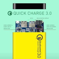 JUALLL Uneed Powerbank 12000mAh Qualcomm Quick Charge 30 QuickBox 12