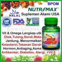 Nutrimax Omega Complex (3, 6, 9 & Vitamin E) isi 30 Untuk Jantung Otak