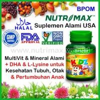Nutrimax Nutri Kidz Multi Vitamin Untuk/Buat Anak (NutriKidz/Kids/Kid)
