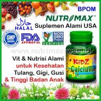 Nutrimax Kidz Calcium + Vitamin D Untuk Peninggi Badan/Tubuh Anak/Kids