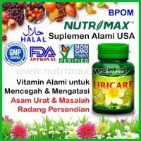 Nutrimax Uricare isi 30 Vitamin/Obat Herbal Untuk Penurun Asam Urat