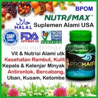 Nutrimax Prohair/Pro/Hair Shine Vitamin/Obat Untuk/Buat Rambut Rontok