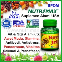 Nutrimax Royal Jelly Vitamin Untuk/Buat Daya Tahan Tubuh (Jely/Jeli)