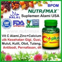 Nutrimax C+ Plus isi 30 Vitamin Untuk/Buat Menjaga Daya Tahan Tubuh