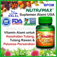 Nutrimax Healthy Joint isi 60 Vitamin Buat Kesehatan Sendi & Tulang