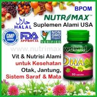 Nutrimax DHA Plus Vitamin/Nutrisi Untuk/Buat Penambah Daya Ingat Otak