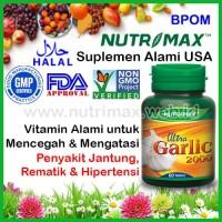 Nutrimax Ultra Garlic 2000 isi 60 Vitamin Penurun Tekanan Darah Tinggi