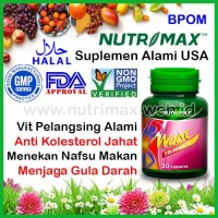 Nutrimax Waist Trimmer Obat Pelangsing Badan/Tubuh/Perut Herbal Alami